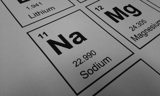 Elektrolyt van de week: natrium