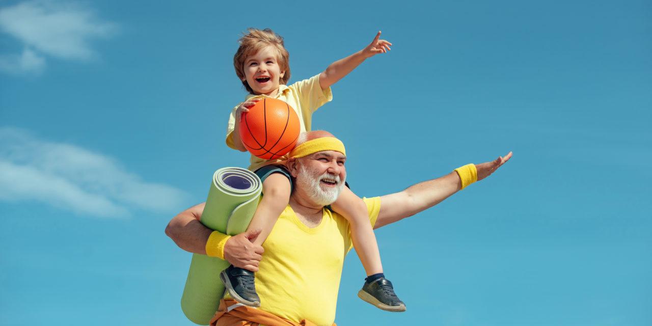 Je bent nooit te jong of te oud om te sporten