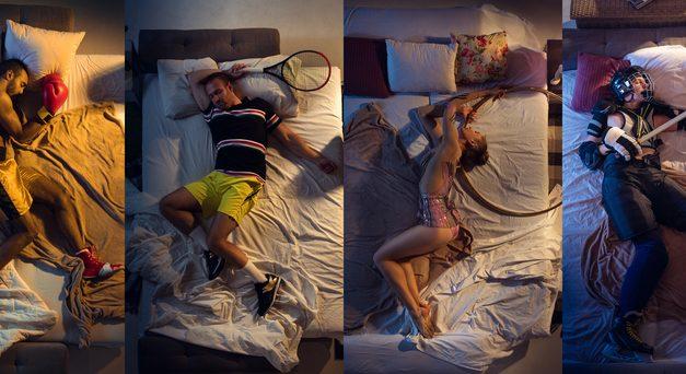 Slaap, atleetje, slaap